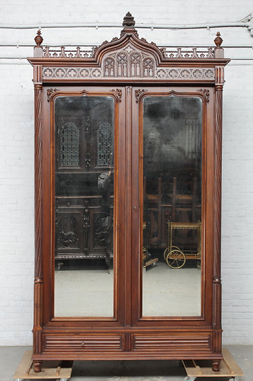 Gothic French Armoire