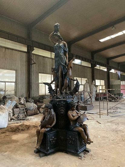 Bronze Figurative Fountain