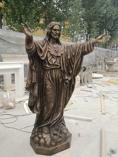 Bronze Jesus Statue