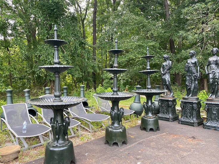 Cast Iron Victorian Style Fountain