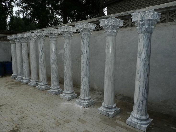 Beautiful Corinthian Style Marble Columns