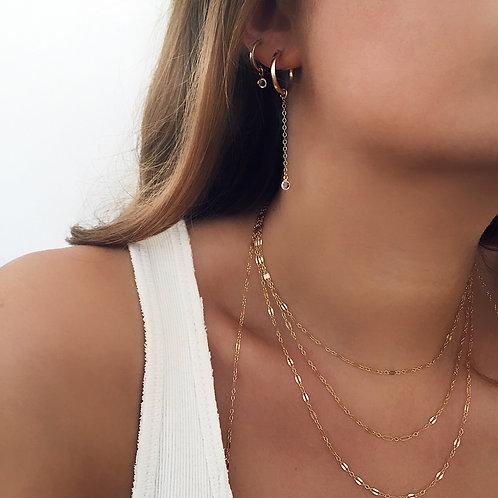 Karla Hoop Earrings