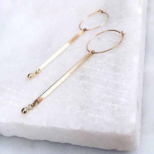 Emilia Bar Earrings
