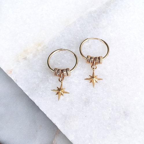 North Star Earrings