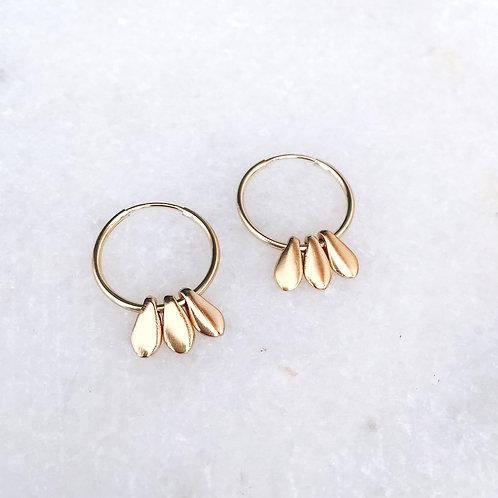 Victoria Hoop Earrings