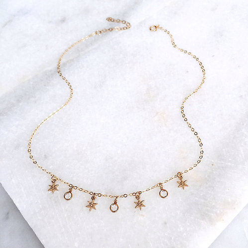 Shiny Stars Necklace