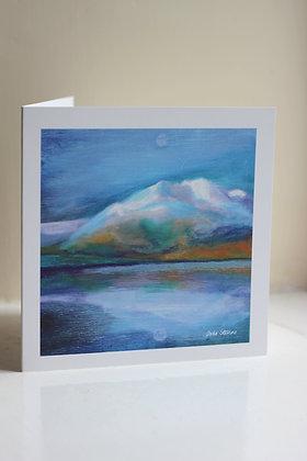 'Ben Venue over Loch Achray' Card