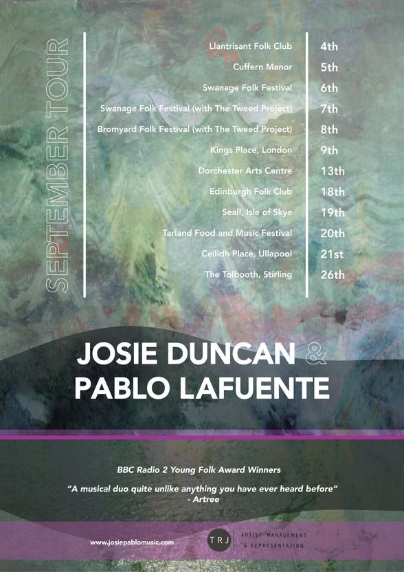 Josie Duncan & Pablo Lafuente