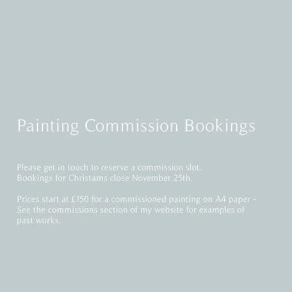 Painting Commission Booking