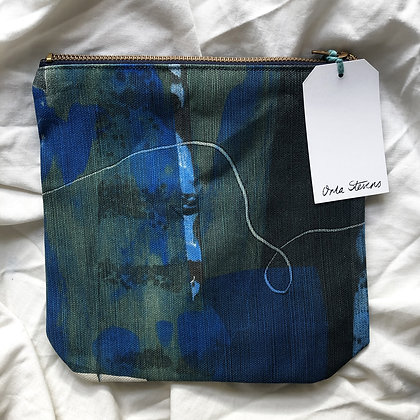 Stencil Print Wash Bag - 2