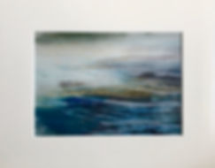 Orla Stevens Contemporary Prints Scotland, Art for sale inspired by the Highlands, Loch Katrine