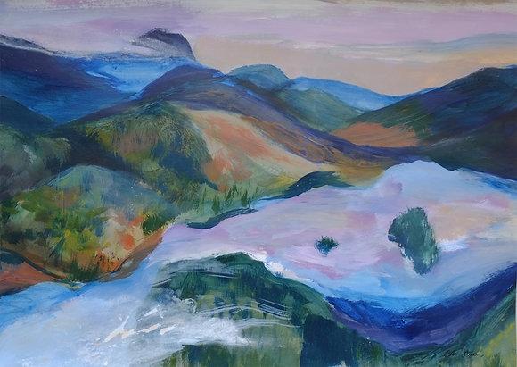 Dusk - Loch Ard