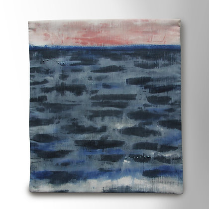 'Flat Calm' Textile Wall Hanging