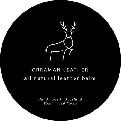 Orraman Leather Logo and Packaging Design