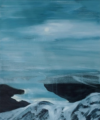Weak Winter Sun - Ben Lomond