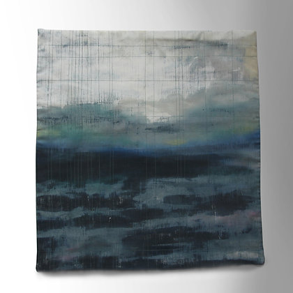 'Sea Grid' Textile Wall Hanging