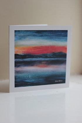 Loch Venachar Card