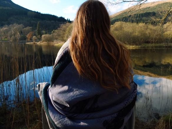 Lubnaig Reflections Blanket