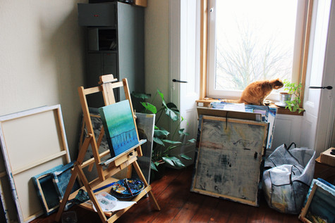 making studio