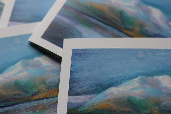 'Ben Venue over Loch Achray' x4 Pack Cards