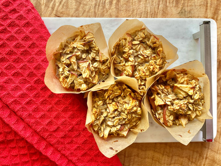 Oatmeal Muffins (gluten-free)