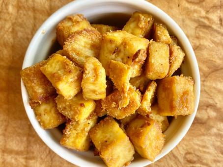 Sweet Crispy Tofu