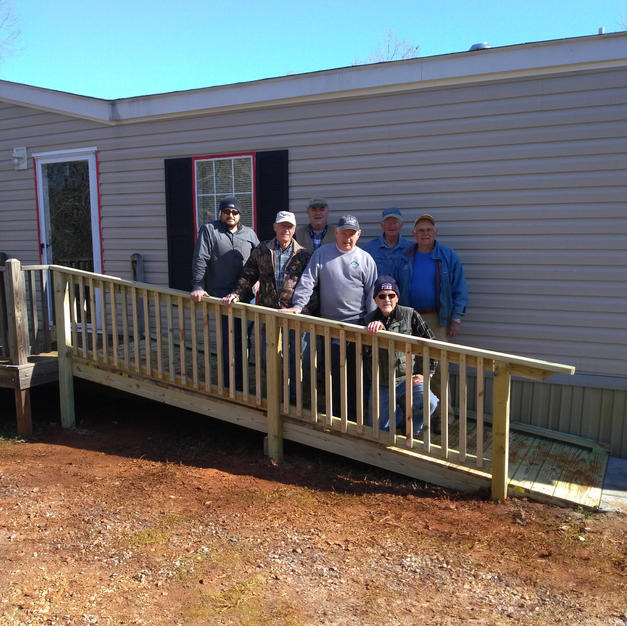 Serve Team Ramp Build--February 22, 2020