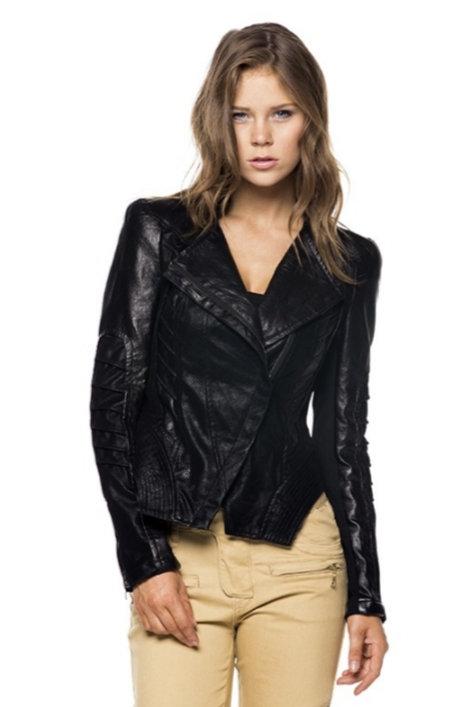 Premium Leather Moto Jacket