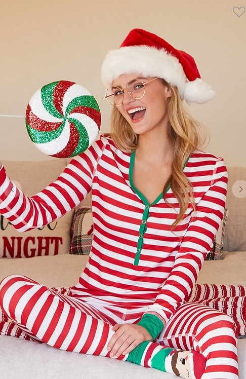 Stripe Pajama Set