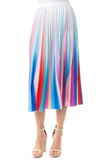 Rainbow Midi Skirt
