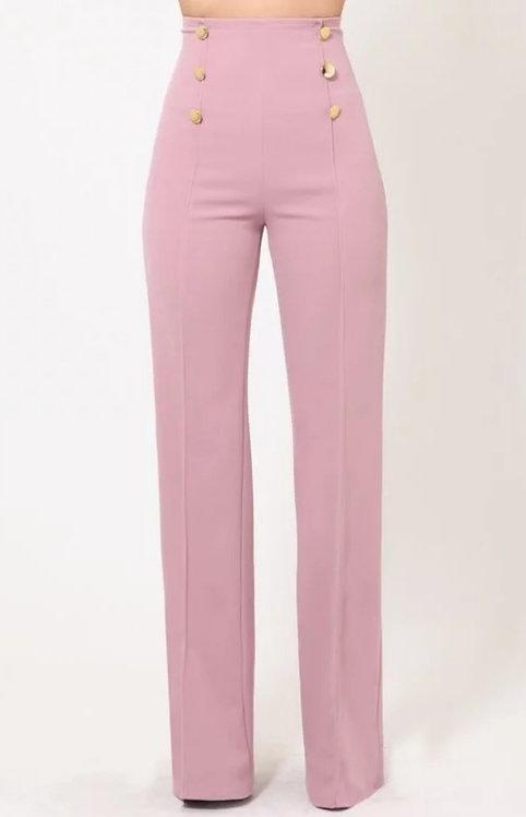 Highwaist Dusty Pink Pants