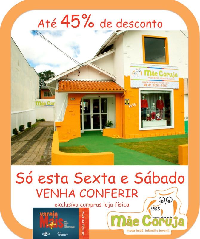 Feriadão de DESCONTO - 05 e 06/06/15