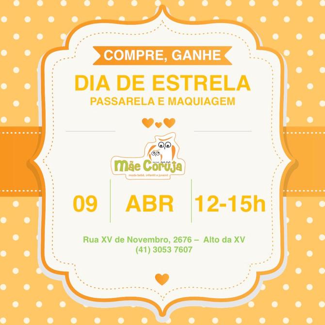 DIA DE ESTRELA - Sábado 09/04/2016
