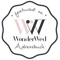 Featured on WonderWed Adressbuch 340x340
