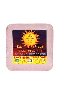CBD LAVENDAR SOAP 60 Mg