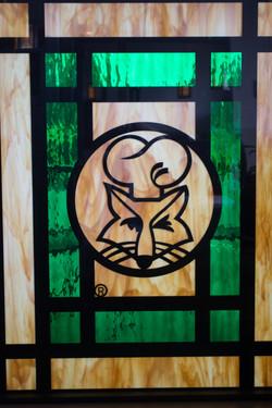 Fox's Pizza Den Window