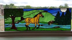 Horse panel