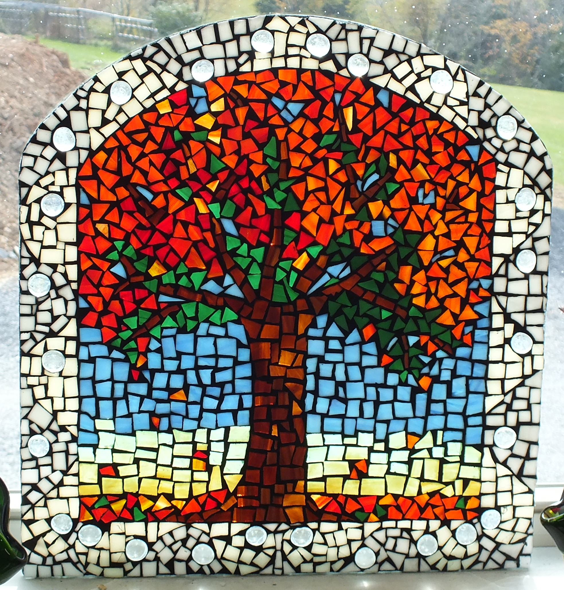 Fall Tree Mosaic