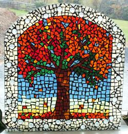 Fall Tree Mosaic
