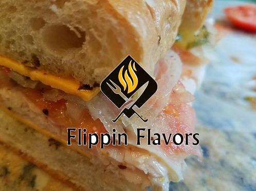 Flippin Flavors Party Tray Turkey Hoagies