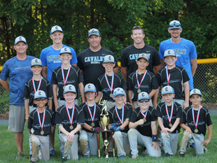 9U Cavalry Wins NVTBL Tournament