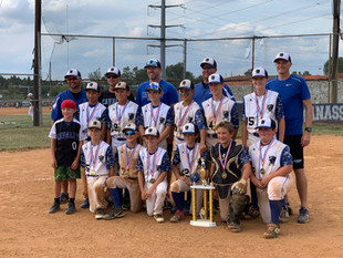 Cavalry 12U Wins Manassas Dog Days Tournament