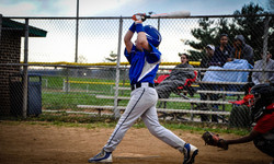 Ian and the powerful swing