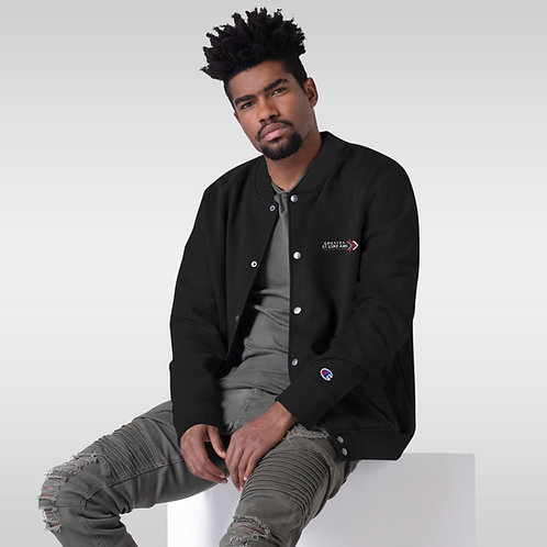 GSL Embroidered Champion Bomber Jacket