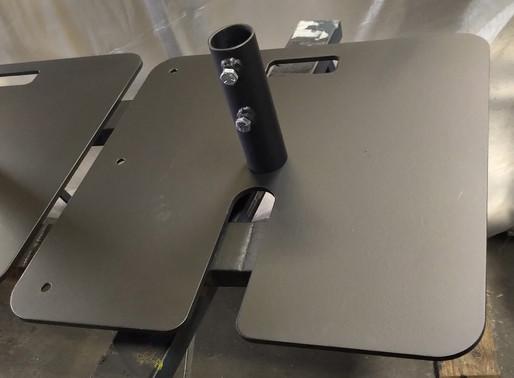 Plaque de base pour tubes