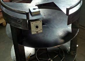 Fabrication d'une table avec 3 stations pour un laboratoire