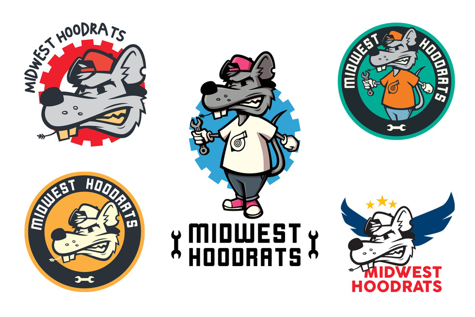 hoodrats' logos