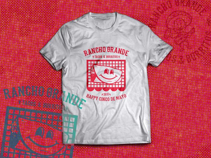 Cinco de Mayo T-Shirt MockUp