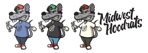 hoodrats' mascot