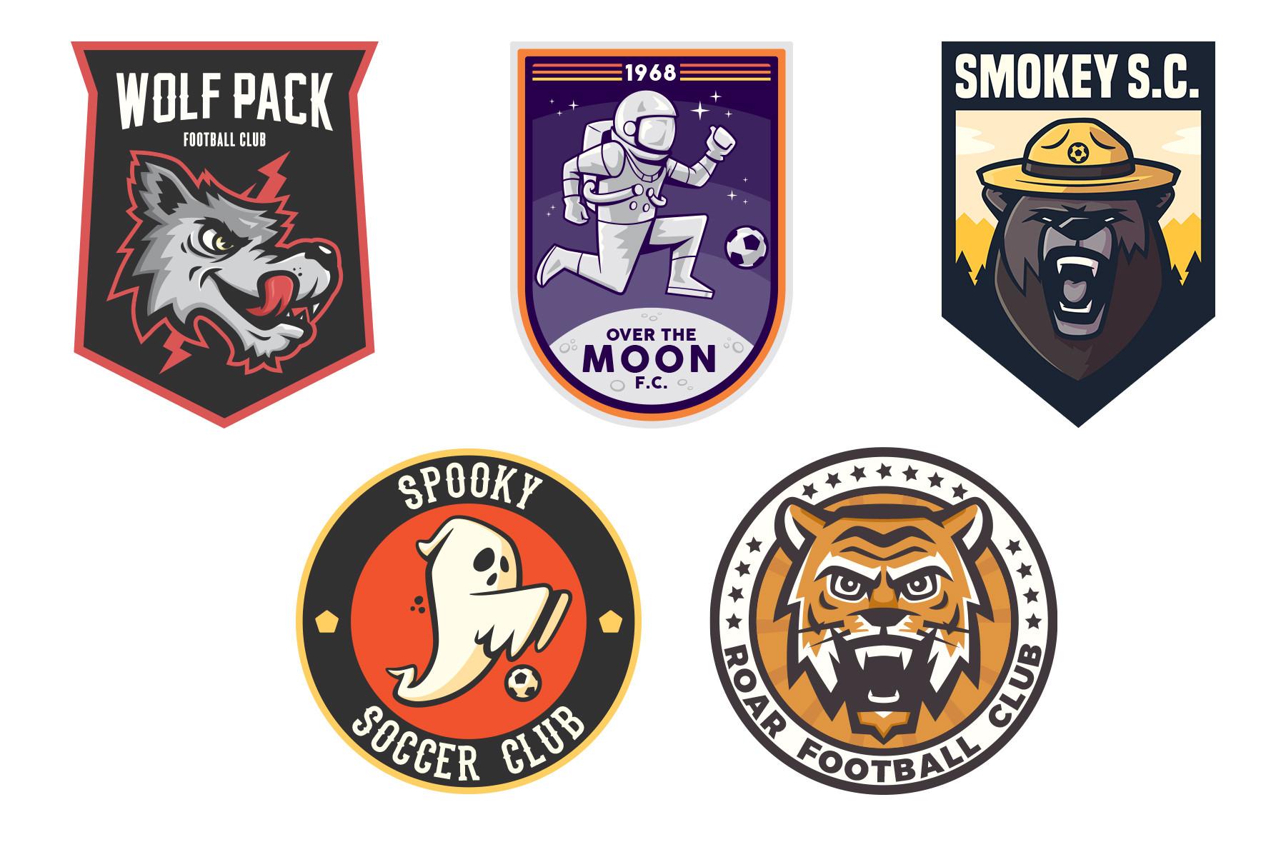 SD Soccer Crests